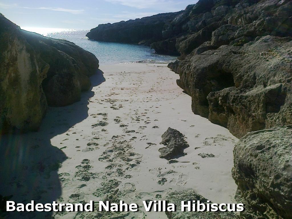 Badestrand Nähe Villa Hibiscus auf Menorca