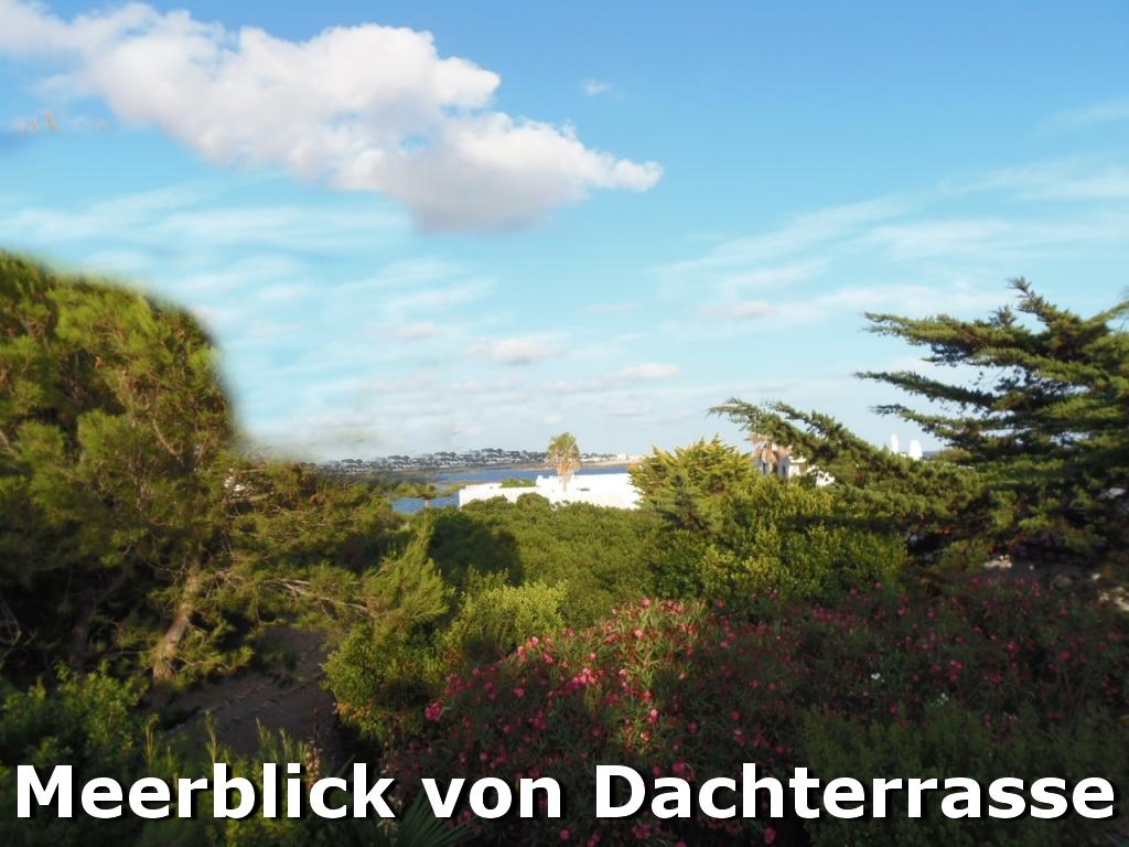 Villa Hibiscus: Meerblick-von-der-Dachterrasse